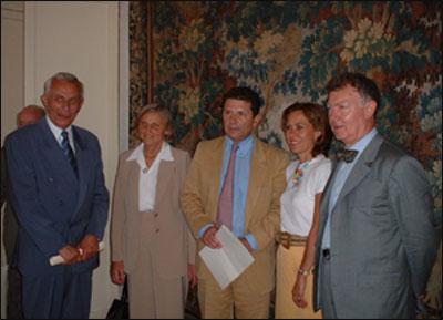 Remise du prix de l'AFRI 2005